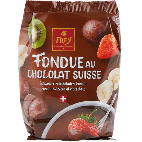 Schokoladen-Fondue «Nachfüllbeutel» - 200g