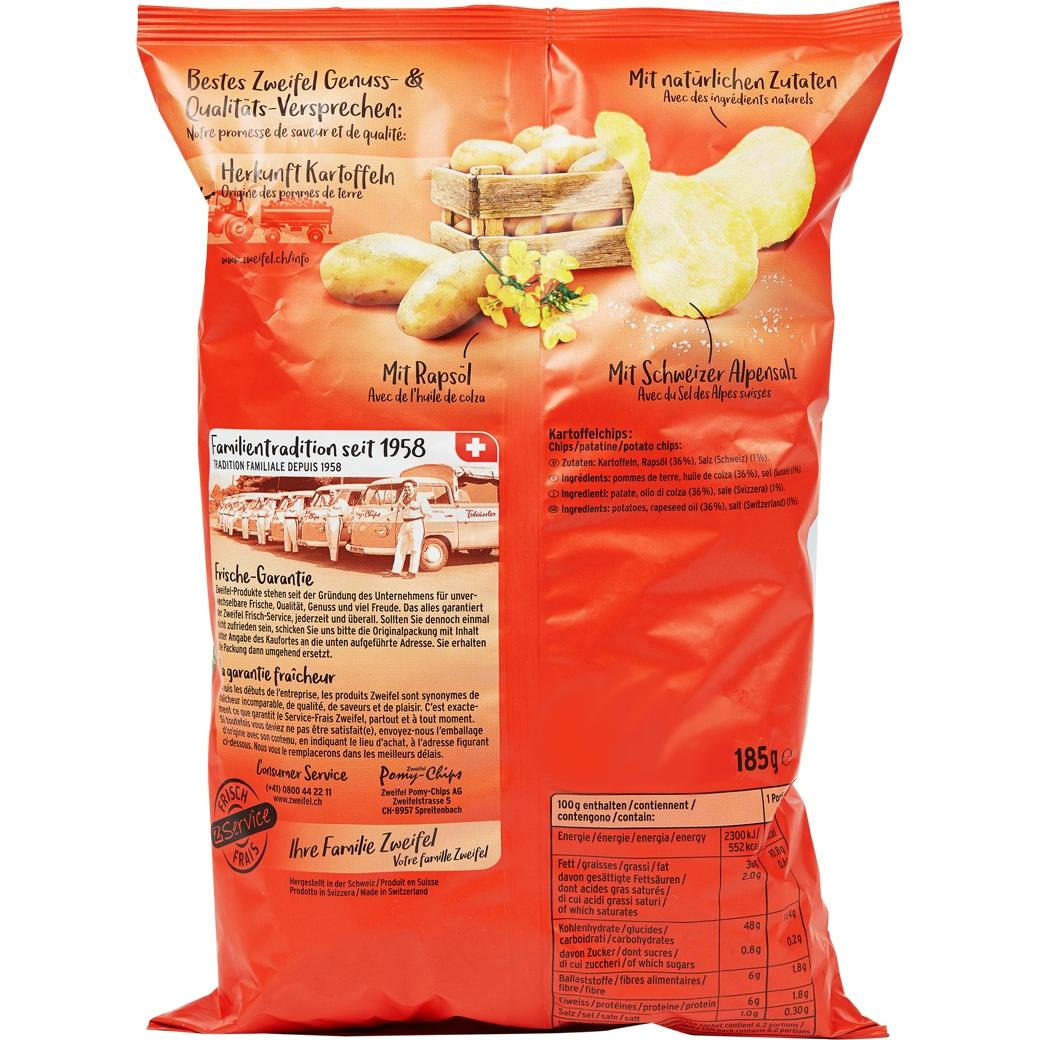 Zweifel Original Chips Nature - 175g