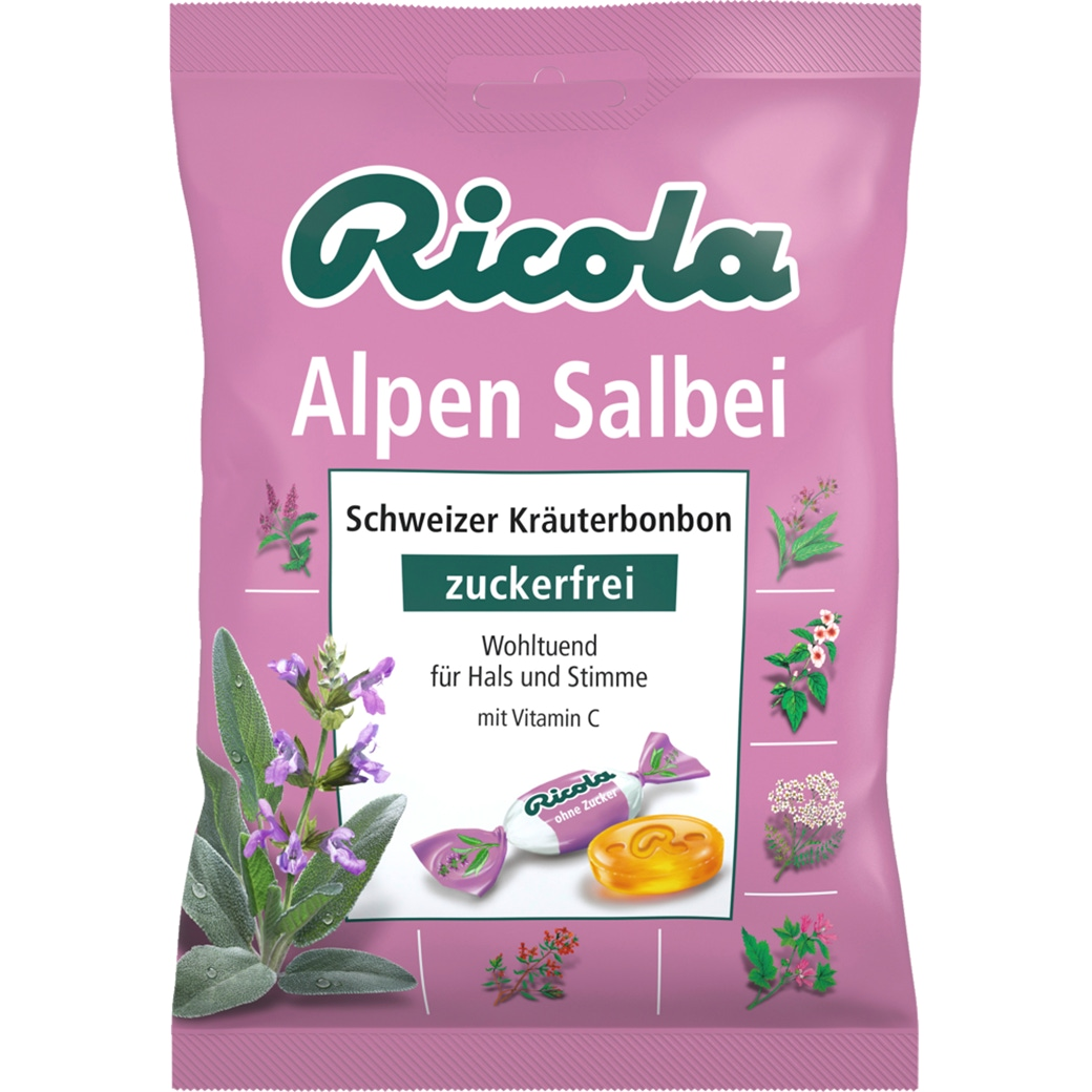 Ricola Alpen Salbei ohne Zucker
