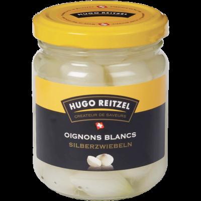 HUGO Reitzel köstliche Silberzwiebeln in Essig - 215g