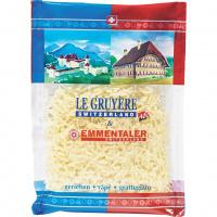 Reibkäse Le Gruyère & Emmentaler