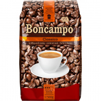 Kaffee Boncampo gemahlen
