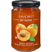 Walliser Aprikosenkonfitüre