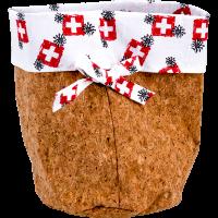 Brottasche aus Kork «CH-Kreuz»